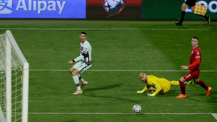 Cristiano Ronaldo, Marko Dmitrovic, Strahinja Pavlovic
