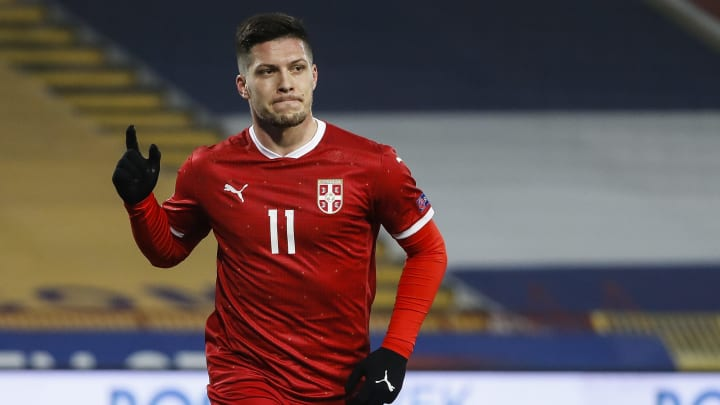 Luka Jovic is a target for Wolves