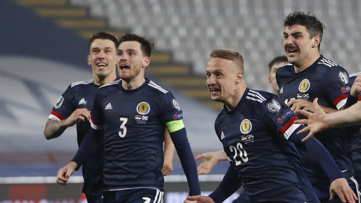 Andy Robertson, Scott McTominay, Leigh Griffiths