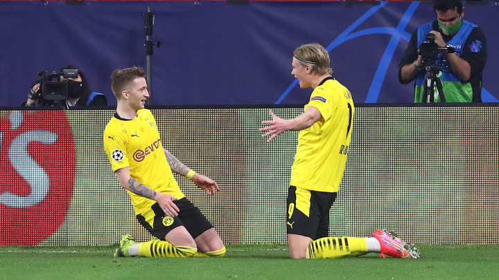 Haaland has clearly impressed Reus