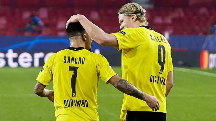 Dortmund are not prepared to sell both Jadon Sancho & Erling Haaland