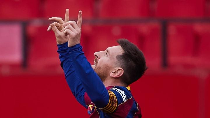 Sevilla FC v FC Barcelona - La Liga Santander - Lionel Messi volvió a marcar.