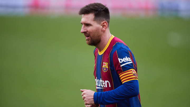 Joan Laporta has claimed Lionel Messi could leave Barcelona