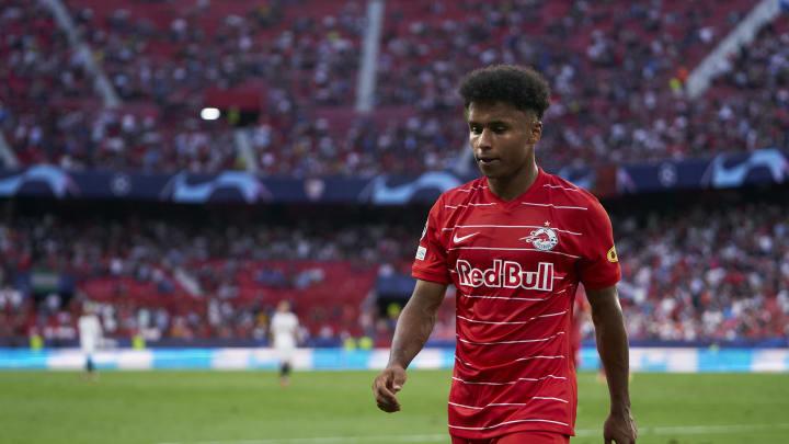 Karim Adeyemi ist ein Thema beim VfL Wolfsburg