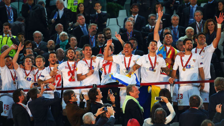 Sevilla là một trong những tượng đài tại Europa League với 3 lần liên tiếp lên ngôi tại đấu trường này