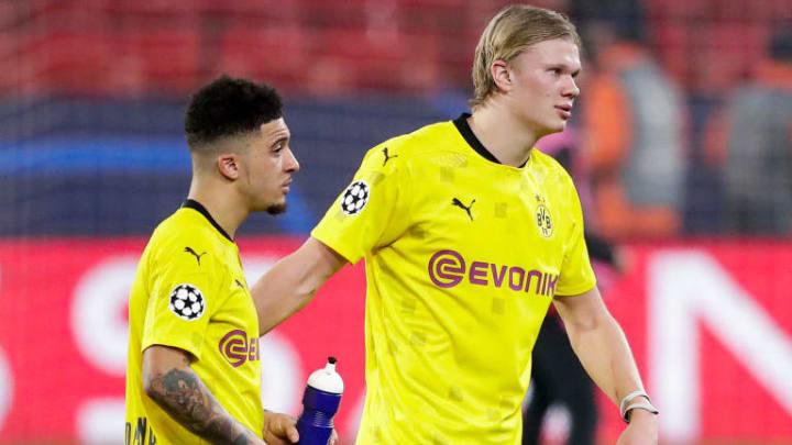 Jadon Sancho et Erling Haaland réunis à Manchester United ?