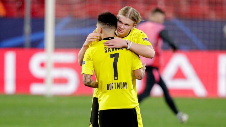 Erling Haaland says he is 'sad' Jadon Sancho signed for Manchester United