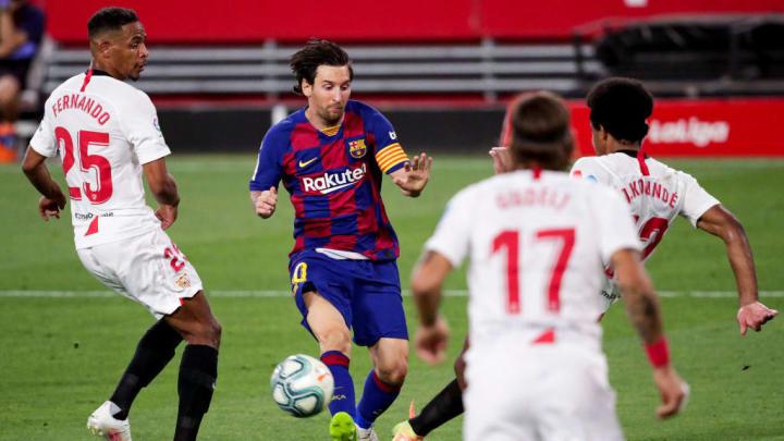 Fernando, Gudelj, J. Kounde, Lionel Messi