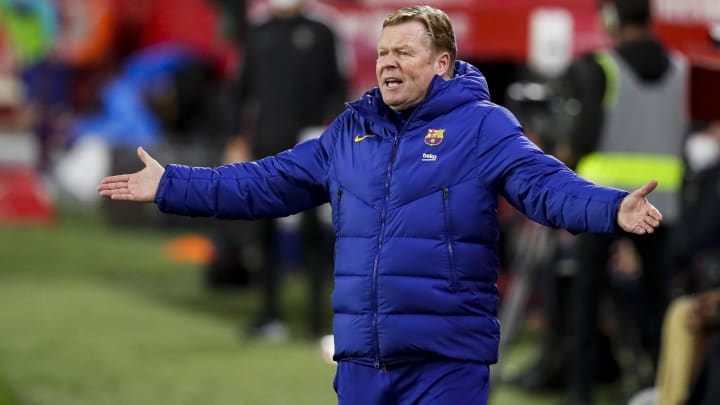 Ronald Koeman's future is up in the air