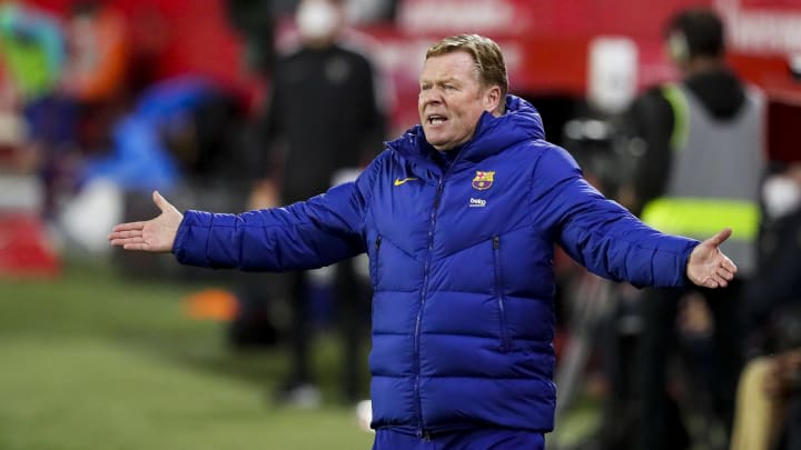 En poste depuis 2020, le Néerlandais Ronald Koeman n'arrive pas à insuffler une bonne dynamique à son équipe. La faute à des erreurs individuelles