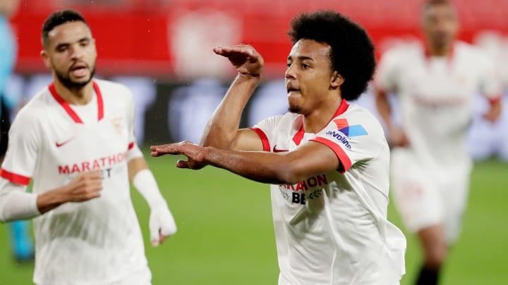 So bejubelte Koundé seinen Treffer zum 1:0 gegen den FC Barcelona im gestrigen Halbfinal-Hinspiel des spanischen Pokals