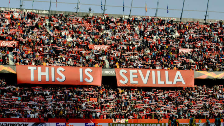 Sevilla v Lazio - UEFA Europa League
