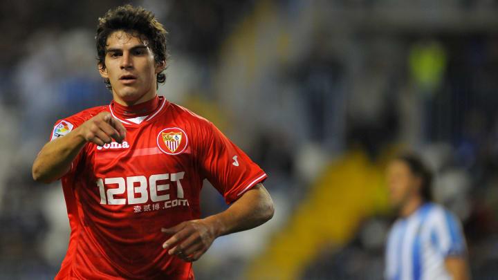 Sevilla's Argentinian midfielder Diego P