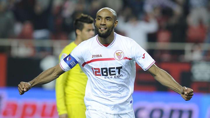 Sevilla's Malian forward Frederic Kanout