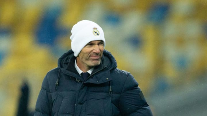 Nothing to smile about for Zizou