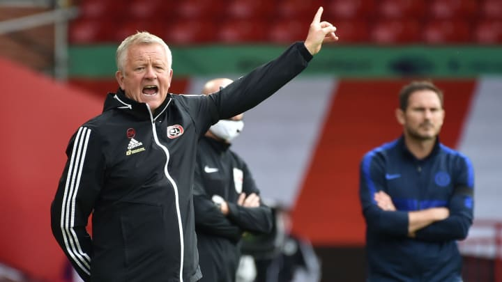 Chris Wilder has guided his nearly promoted Blades to seventh position with three games to go
