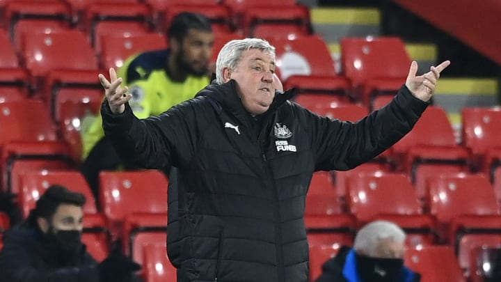 Steve Bruce is under big pressure from Newcastle fans