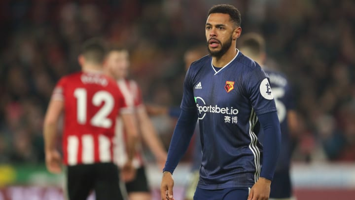 Andre Gray is one of three players left out of Watford's squad to face Southampton