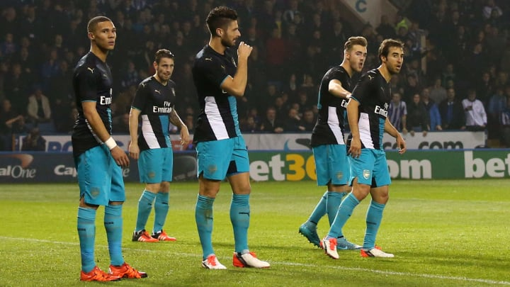 Sheffield Wednesday v Arsenal - Capital One Cup Fourth Round