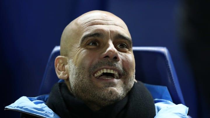 Pep Guardiola, entrenador de los Citizens