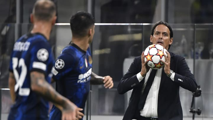 Simone Inzaghi will be looking for his side to bounce back from defeat to Real Madrid in midweek