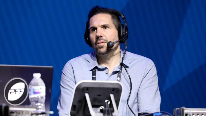 Dean Blandino at SiriusXM At Super Bowl LIV - Day 2
