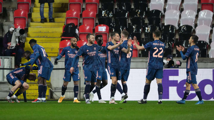 Arsenal were superb in the first half against Slavia Prague