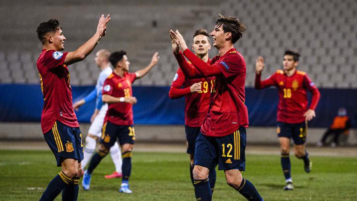 Spain beat Slovenia in the 2021 UEFA European Under-21 Championship