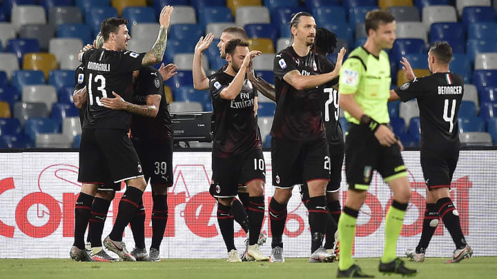 Soccer Serie A, SSC Napoli v Milan