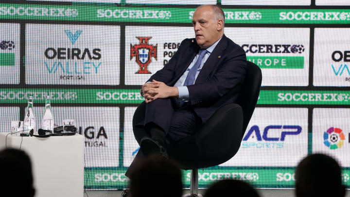 La Liga president Javier Tebas wants fans back soon