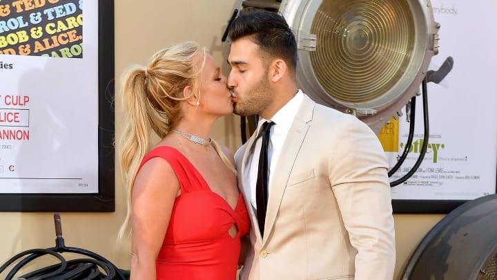 Britney Spears y Sam Asghari se conocieron trabajando