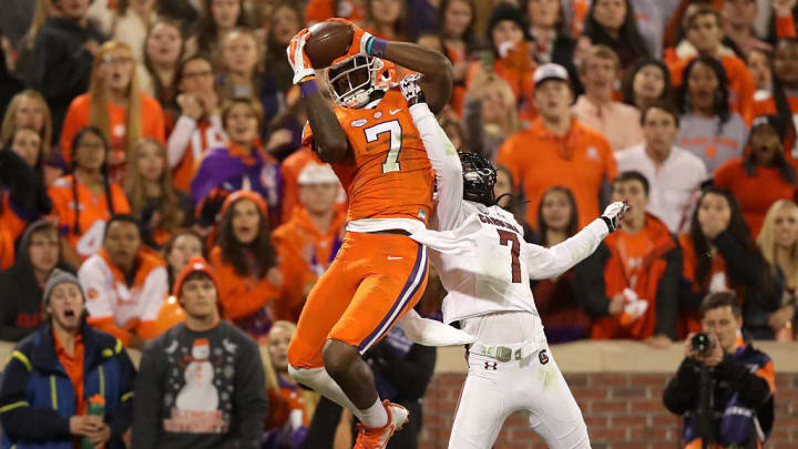 Mike Williams during his time at Clemson.