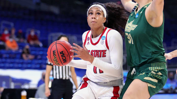 Indiana vs NC State spread, line, odds and predictions for Women's NCAA Tournament.