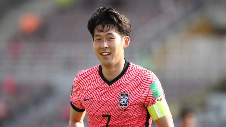 Son Heung-Min COréia do Sul