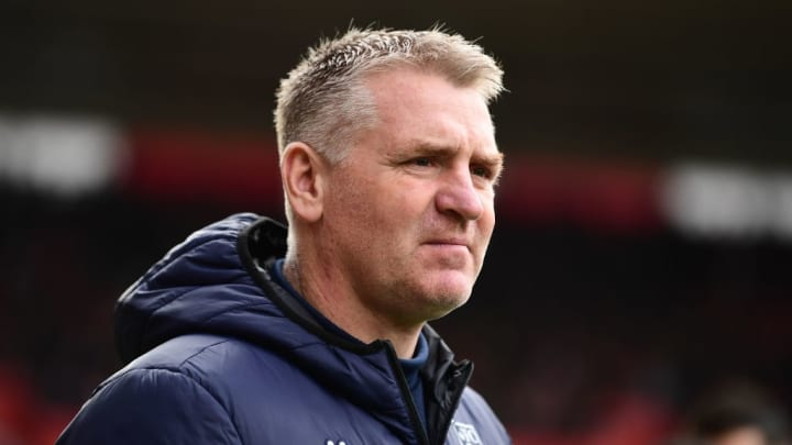 Dean Smith is after a new striker