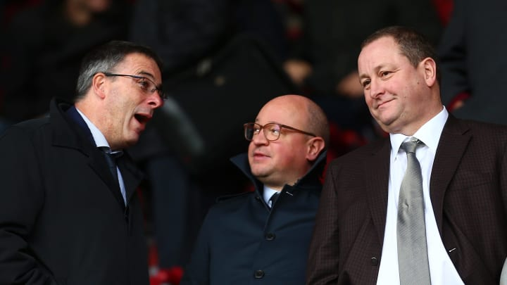 Mike Ashley will remain in charge of Newcastle