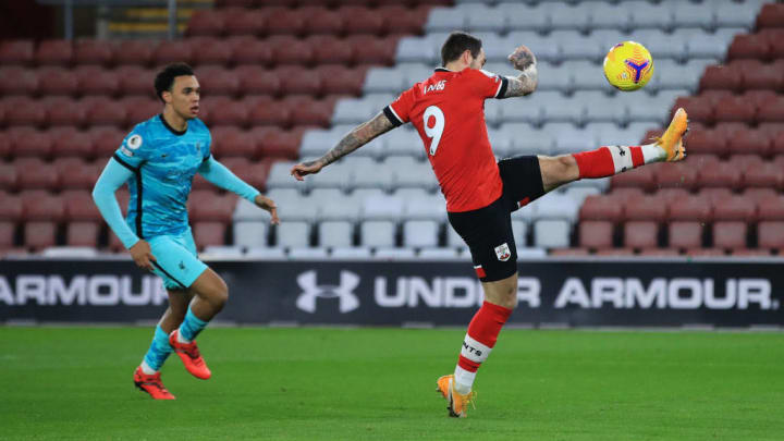 Ings scored the winner against his former club Liverpool in his last game