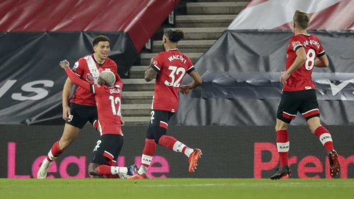 Che Adams, Moussa Djenepo, Theo Walcott