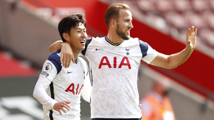Heung-Min Son, Harry Kane