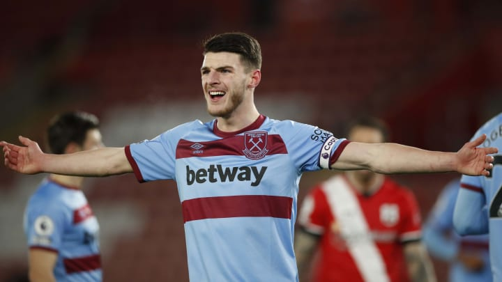 Manchester United to rival Chelsea for West Ham's Declan Rice