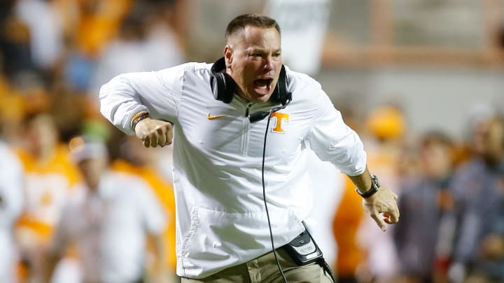 Former Cincinnati and Tennessee head coach Butch Jones is currently an analyst with Alabama.