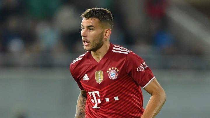 Lucas Hernández sieht sich bei den Bayern als Innenverteidiger