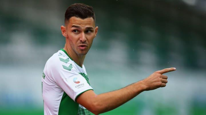 Branimir Hrgota könnte sich in der Bundesliga zurückmelden