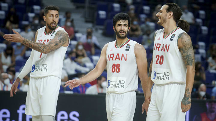 Iran vs Czech Republic odds, betting lines & spread for Olympic men's basketball game on Saturday, July 24.