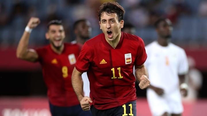 Japan vs Spain Olympic men's soccer odds & prediction on FanDuel Sportsbook.