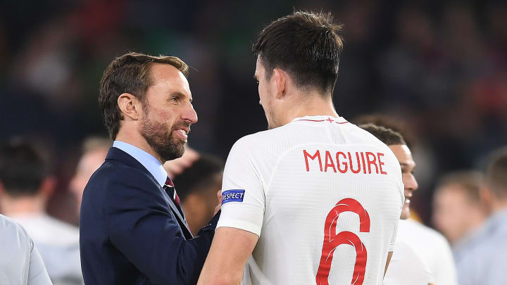 Southgate has spoken over the fitness of Harry Maguire