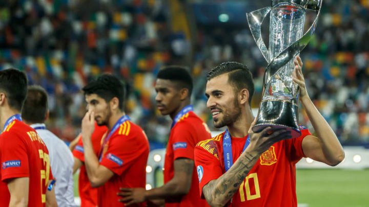 Ceballos shone in Spain's triumph at the Under-21 European Championships last summer