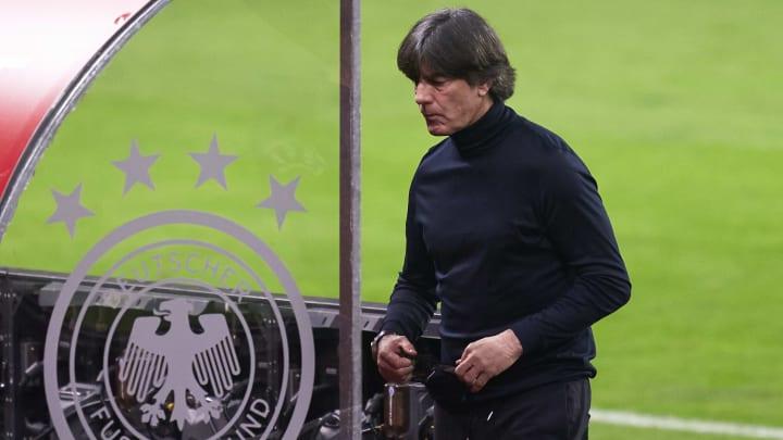 Die Zukunft von Bundestrainer Joachim Löw ist offen