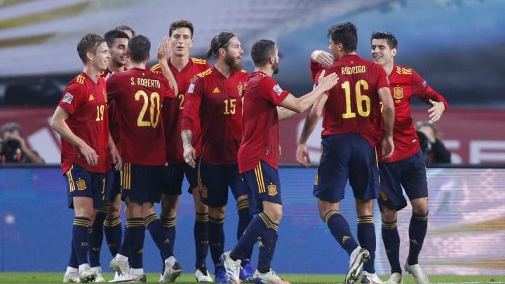 La selección española está por debajo de las grandes favoritas