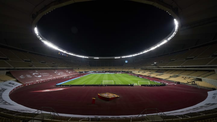 Seville's La Cartuja stadium